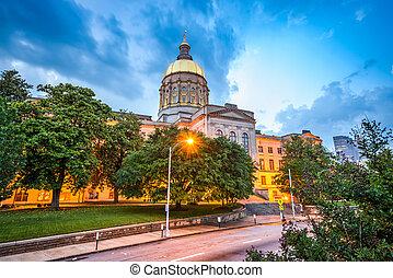 georgia megállapít, kongresszus székháza washingtonban