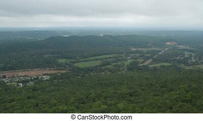Georgia Mountain top view three - Mountain top view three...