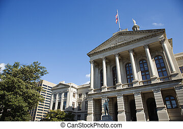 Georgia State Capitol Building.