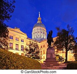 Georgia State capitol - Georgia State Capitol Building in...