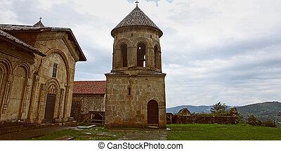 georgia, viejo, ortodoxo, monasterio, -, gelati, kutaisi