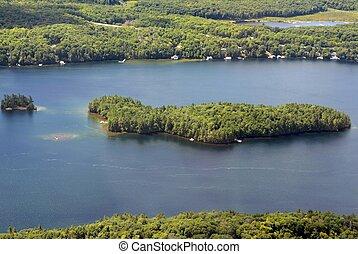 Georgian Bay Island landscape