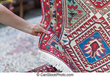 Georgian Caucasian Antique Kilim Rugs