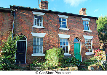 Georgian cottages - georgian terraced cottages in english...