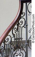 Georgian staircase banister - Georgian staircase decorative...