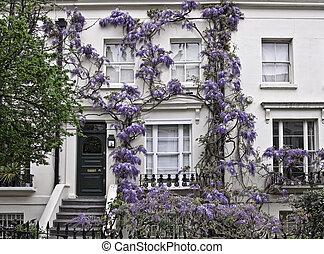 Georgian style building in London