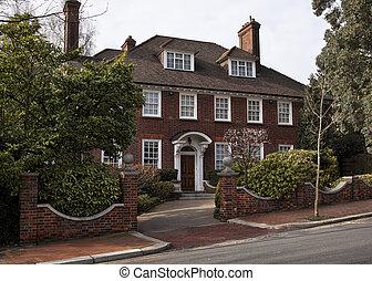 Georgian  style house  in London