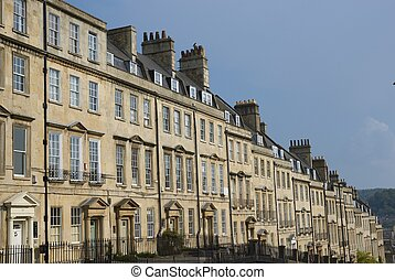 Georgian Terrace - Terrace of Georgian Town houses in The...