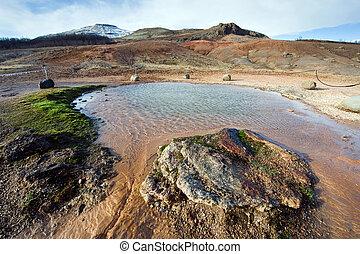 Geothermal hot water