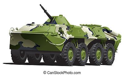 gepanzert, troop-carrier.