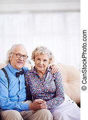 gepensioneerden, elegant
