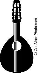 geplukte, instrument muziek, spaanse , chordophone, folk-...