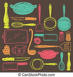 gerät, kochen, seamless