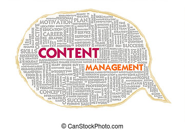 gerência, bolha, textura, conteúdo, wordcloud, papel, fala