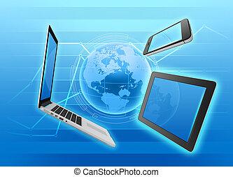 gerência, e, controle, de, mercado, dispositivos