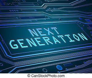 geração, concept., logo