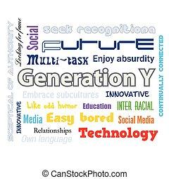 geração y, infographics