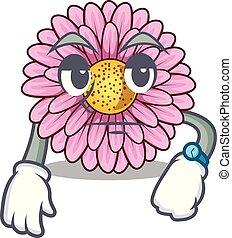 gerbera , σχήμα , λουλούδια , γελοιογραφία , αναμονή