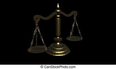 gerechtigheid schaal