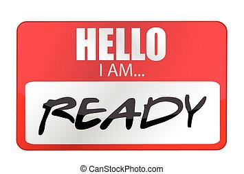 gereed, tags., ontwerp, hallo, illustratie