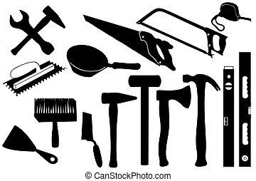 gereedschap, handen