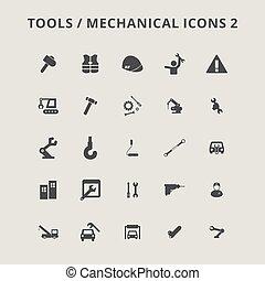 gereedschap, iconen