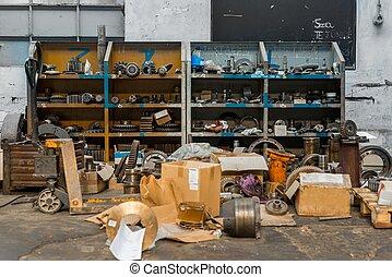 gereedschap, oud, closeup, foto