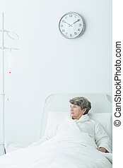 Geriatric ward patient