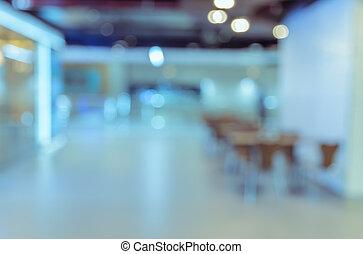 gericht, lebensmittel, abstrakt, hintergrund, verwischen, cafeteria, oder