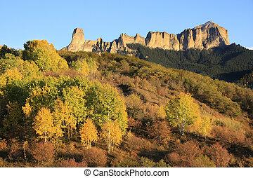 gerichtsgebäude, berg, colorado