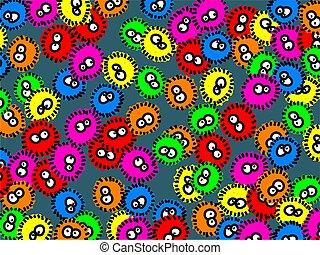 Germ Wallpaper