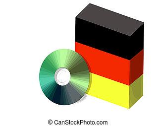 Germa software box and CD