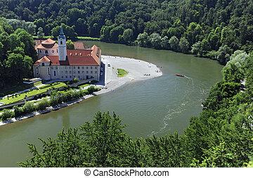 german abbey weltenburgin germany