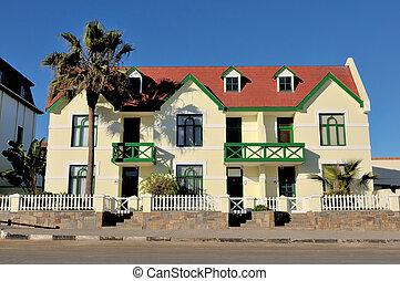 German architecture in Swakopmund, Namibia