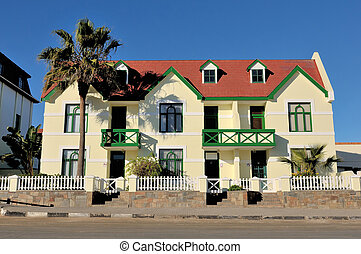 German architecture in Swakopmund, Namibia