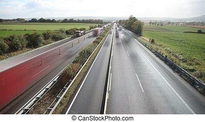 German Autobahn TIMELAPSE - German Autobahn