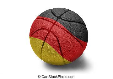 German Basketball - Basketball ball with the national flag ...