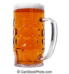 German beer glass