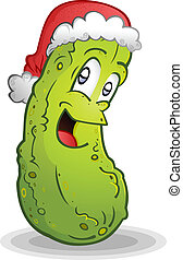 German Christmas Pickle Legend - The hidden pickle in the...