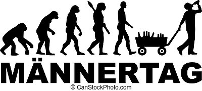 German Fathersday Evolution