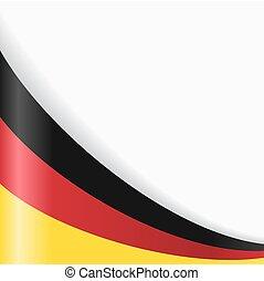 German flag background. Vector illustration.