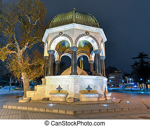 German Fountain, Sultanahmet Square, Istanbul - German...