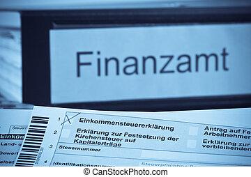German income tax return - A German tax return for income...
