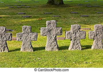 German La Cambe Cemetery, Omaha