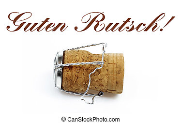 German Language Happy New Year