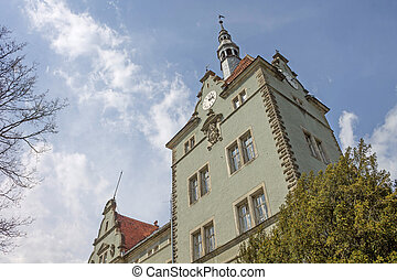 German medieval castle in Ukraine