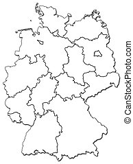 german provinces(states)