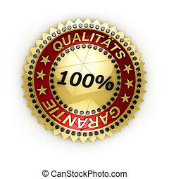 German Satisfaction Guaranteed seal
