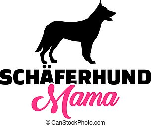 German Shepherd mom german - German Shepherd mother in...