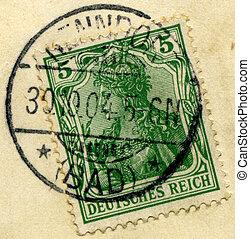 German stamps.